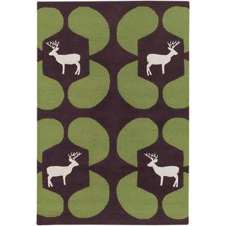 Greendeer-woolrug