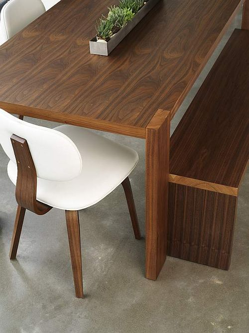 Plank Table & Bench, Thompson Chair