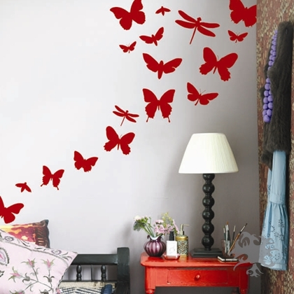 Ferm living butterflies wall sticker