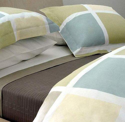 Area Bedding - BLOCKS Vanilla Duvet Set