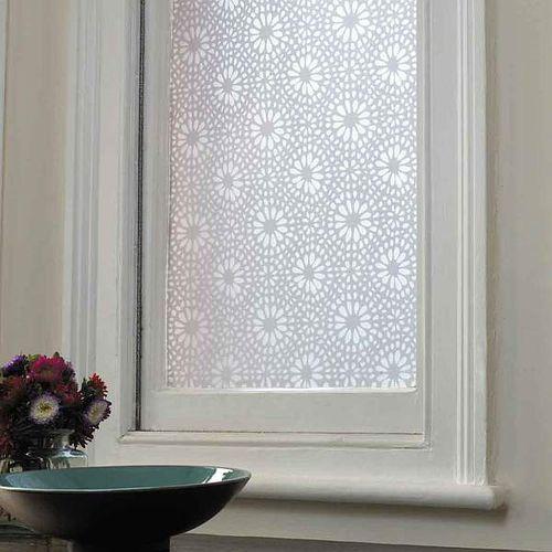 Emma Jeffs Moroccan Tile Window Film