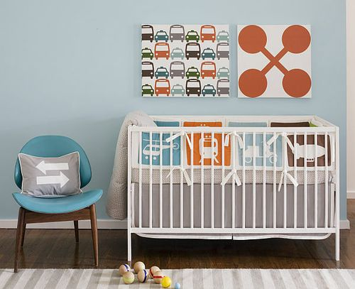 TRANSPORTATION Multi - Crib Set