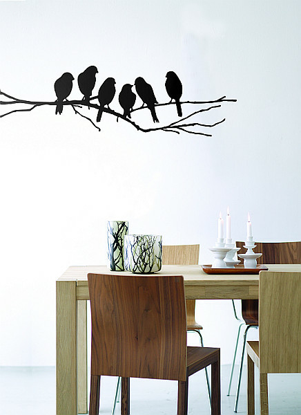 ferm LIVING Love Birds Wall Sticker