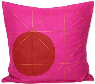 RAJBOORI MILON Pillow - Fuchsia