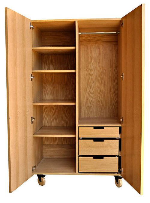Iannone design butterfly armoire open