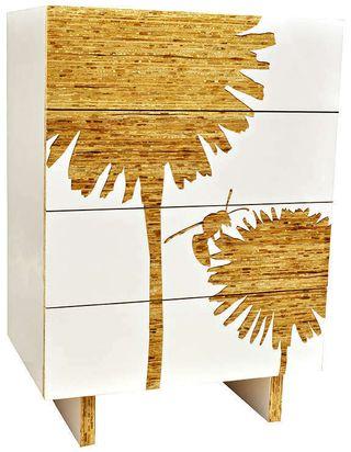 Iannone Design graphic dandelion dresser