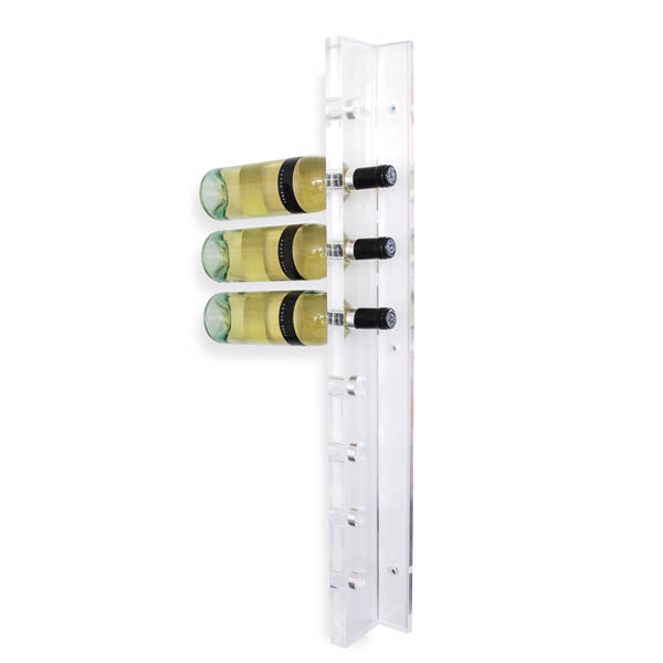 Gus modern acrylic wine holder