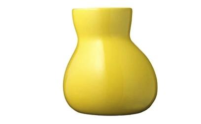 Bulbo Vase Yellow