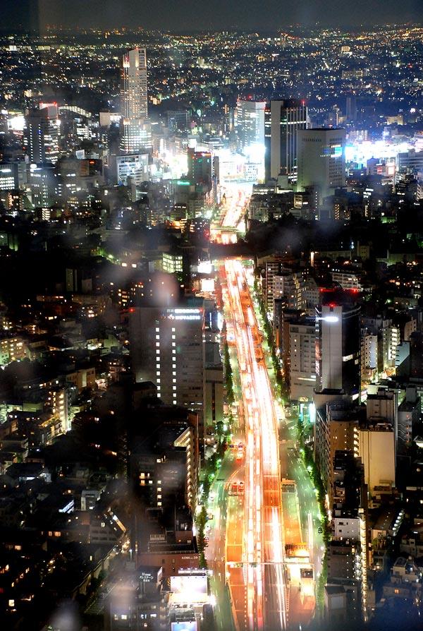 도쿄시내야경