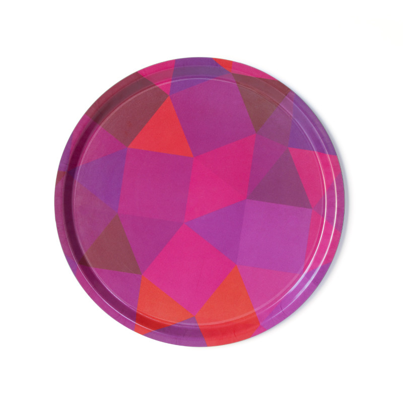 NotNeutral-Prismatic-Round-Serving-Tray